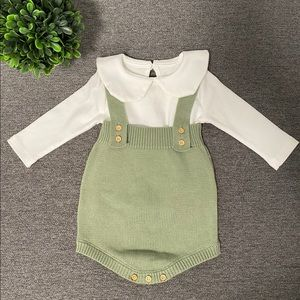 Baby Knitted Rompers/Overalls